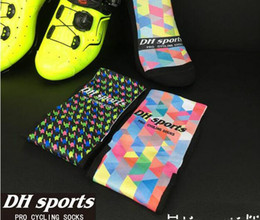 Wholesale Bike Training - DH SPORTS Unisex Cycling Socks Men Bike Race Training Breathable Outdoor sports socks