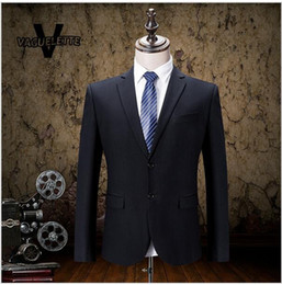 Wholesale Trajes Royal Blue - (Blazer+Pant)Mens Wedding Tuxedos Business Classic Wear Skinny Male Suits Slim Fit Imported Trajes De Hombres De Vestir S-3XL AOP--029