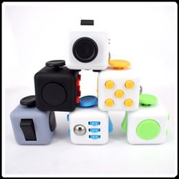 Wholesale Hot New Selling Toy - Big Sell New Popular Decompression Toy Fidget cube the world's first American decompression anxiety Toys Hot