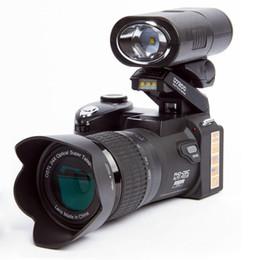 Canada PROTAX POLO D7200 appareil photo numérique 33MP FULL HD1080P Zoom optique 24X Autofocus DSLR Caméscope professionnel avec 3Lens LED Spotlig 2017New Offre