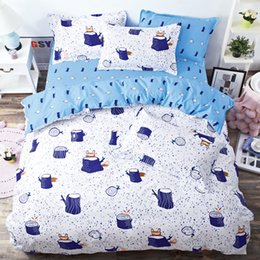 Wholesale Full Fashion Bedding Set - 2017 New Fashion Bedding Duvet Cover Set Brightly colored Pillowcase Bed Sheet Twin Queen King Size