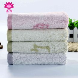 Wholesale Bamboo Absorbent Towel Face - muchun Brand Soft Shibori Ancient Charm Pure Plant Extracts Dye Face Washrag Rectangle Absorbent Terry Bamboo Fiber Towel CM-7010F 34cm*72cm