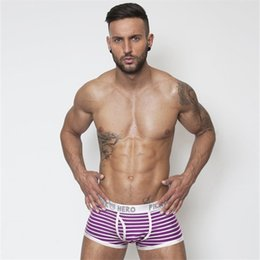 Wholesale Mens Fashion Underwear Brands - Hot Sell Cheap New Brand mens cotton boxer shorts fashion underwear male underwear sexy 1203