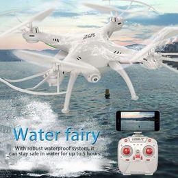 Вертолет rc 2.4ghz онлайн-LiDiRC L15FW RC Drone с HD камерой WiFi FPV 2.4 GHz 4CH 6-осевой гироскоп водонепроницаемый Quadcopter безголовый режим вертолет против MJX X101