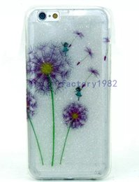 Wholesale Tribal Iphone 5c Cases - Bling Glitter TPU Flower Tribal case for iphone 6 5G 5C Elephant Fruit Soft Gel Cover mix order HK3382