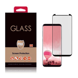 Wholesale Usa Mirror - S8 Plus NEW 3D Covered Full 3M Glue Tempered Glass Screen Protector Samsung Galaxy Creative Direct Shenzhen China OEM&ODEM Wholesales USA