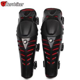 Rodilleras de rodillas de carrera online-Al por mayor- HEROBIKER Moto Racing Motocross Protección Codo Rodilleras Protectoras Protector de Moto Racing Gear Protector Envío Gratis