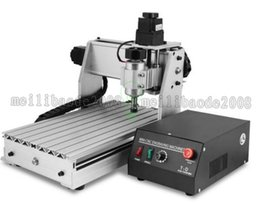Wholesale Drilling Wood - 3 AXIS 3020T USB CNC ROUTER ENGRAVER CUTTING stone wood engraving machine CNC USB 3020T Router Engraver Engraving Drilling MYY