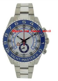 Wholesale buckle suppliers - Factory Supplier Luxury Watches II 116680 Blue Stainless Steel Bracelet Automatic Movement Mens Men's Watch Watches