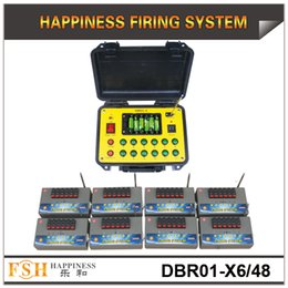 48 Cues Fireworks Firing System Control Equipment AC Smart Show Multifunctional