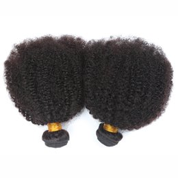 Wholesale Extensions For Sale - For Sale 4a,4b,4c Afro Kinky Curly Human Hair Extensions Natural Black Brazilian Curly Hair