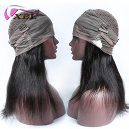 Wholesale Styled Full Lace Wigs - xblhair 360 full lace human hair wigs new arrival human hair wig within body wave and straight hair style