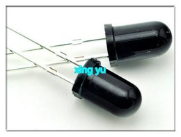 Wholesale Led Diode 5mm White Warm - Wholesale- 100pcs 5mm LED Infrared receiver 940NM IR Led Diodes