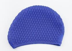 Wholesale Hat Cap Bathing - Men 668 Durable Stylish Sporty Latex Swimming hat flexibility sport Swim Cap Bathing Hat 2 Colors