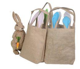 Paskalya Tavşanı Kulaklar Sepet Çanta Paskalya Hediye Paketleme Için Paskalya Çanta Için Çocuk Güzel Festivali Hediye supplier pack baskets nereden paket sepetleri tedarikçiler