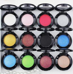 Пигментные тени онлайн-Водонепроницаемый мерцание матовые тени для век профессия пигмент макияж палитра глаз косметическая палитра блеск металлические тени для век 29 цветов