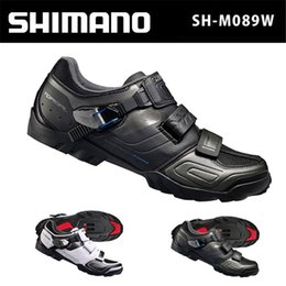 Wholesale Mountain Bikes Shoes - Shimano mountain bike lock shoes shoes male M088   M089 lock shoes riding shoes bicycle shoes