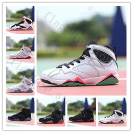 Wholesale Pvc Fabric Offers - [With Box]New Retro 7 Basketball Shoes Men Real Authentic Sneakers Replica Zapatos Mujer Homme Retros Shoes New 7s VII Special offer