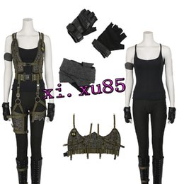 Wholesale Alice Costume Xl - New Arrival Women's Costume Resident Evil: The Final Chapter Alice Costume Halloween Costume For Women Custom Made