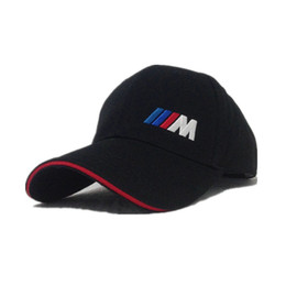 Wholesale Bmw Letters - sport Baseball Hat snapback womens mens Cap leisure Cotton hats casual adult caps for bmw car Women Men snapbacks wholesale free shipping