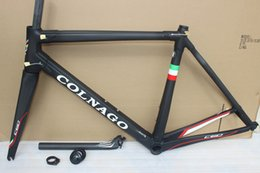 Wholesale Bike Frame 54 - colnago C60 road bike carbon frame full carbon fiber road bike frame 48 50 52 54 56cm T1000 carbon frameset