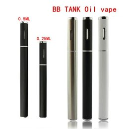 Wholesale E Cigarette Disposable Empty - Upgrade disposable e cig vaporizer pen e cigarette oil vape pen .25ml .5ml empty cartridge vape pen AT161