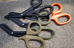 Wholesale EMT EDC gear tactical rescue scissor trauma gauze IFAK emergency first aid Shears outdoor Paramedic bandage tijera rescate