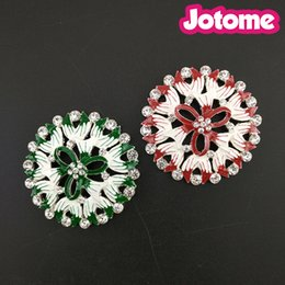 Wholesale First Engagement - 50pcs lot Choose Color First, Pretty Jewelry Falt Back Flower Brooches For Women Red Green Enamel Pin Brooch