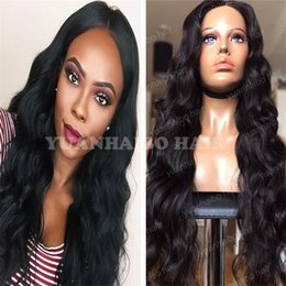 Wholesale Extra Long Lace Wigs - Stock Top 8A Grade Glueless Full Lace Wig Virgin Brazilian Hair Loose Wave Extra Long Lace Front Wigs Free Shipping!