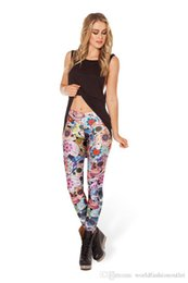 Wholesale Girls Galaxy Leggings - 2017 Galstar Skinny Leggings Fashion women pants Sexy Galaxy Leggings Patterned Girl Graffiti Leggings Starry Night Tights Space pants