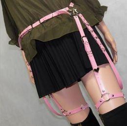 Wholesale One Garter - Wholesale- 2017 Fashion harness body bondage harness microcycle hip waist Cincher garter belts