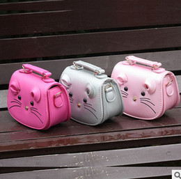 Wholesale Body Baby Princess - Girls Princess Bag Children School Bags cute mouse handbag Kids Small Travel Messenger Cross-body Pouches for Kindergarten Baby Girls T4865