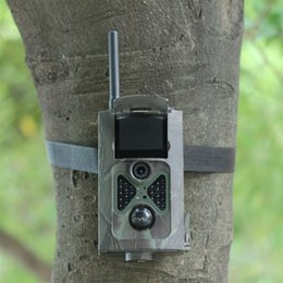 Wholesale Mms Sms Gsm Wireless - Wholesale-Wireless Cameras 500M HD 1080P GSM MMS GPRS SMS Control Digital Infrared Trail Cam Camera [2015 Newest]