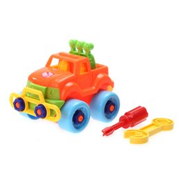 Wholesale Electric Car Toy Baby - 2016 Plastic Kids Disassembly Toy Car Child Educational Toys Cars Baby Classic Christmas Gift