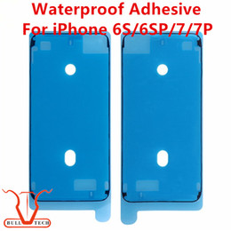 Wholesale Stickers Tape - Original Waterproof Sticker Adhesive Glue Tape for Apple iPhone 6S 6s Plus 7 7 Plus LCD Screen Front Frame