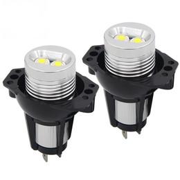 Wholesale Bmw 328i - 6W 12W LED Halo Ring Marker Angel Eyes light Bridgelux Chip 6500K XENON For BMW E90 E91 325i 328i 330i 335i Car Styling