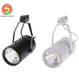 Wholesale Wholesale Stores Clothes - NEW 30W AC85-265V 2700LM COB LED Track Light Spotlight Lamp Adjustable for Shopping Mall Clothes Store Exhibition Office