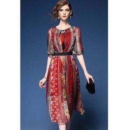 Wholesale Types Collars Dresses - Brand 2017 Women Plus size Casual Summer Simple Slim-type Dress High quality Ball Gown Female vestido Slim sundress