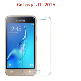 Wholesale Touch Screen Protectors Films - For Samsung Galaxy J1 J3 J5 J7 2016 Tempered Glass phone film Phone Protective Phone film touch screen protector