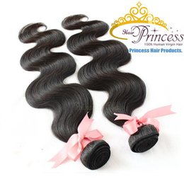 Wholesale Indian Hair Promotion - OPENING PROMOTION! 6A Brazilian Peruvian Malaysian Indian Virgin Hair weaving Hair extension Hair Weaves Body Wave Double Weft Free Shipping