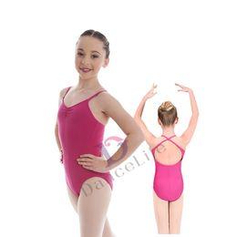 Wholesale Camisole For Girls - Free shipping Child ballet leotard C2045 camisole girls gymnastics leotards for sale leotards