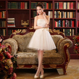 Wholesale Dresses Formales - elegant sexy vestidos de formales white ivory special occasion strapless cocktail and party dresses dress 2017 new arrival H2994