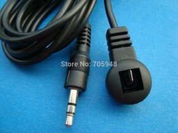 Wholesale Ir Receiver Cable - Wholesale- Infrared Receiver SET TOP BOX STB IR Extender for HD DVR TV extension cable 3.5mm Stereo Plug 100CM 300CM 5m 10m