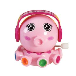 Wholesale Plastic Octopus Toy - Wholesale- Mini Octopus Clockwork Toy Kids Baby Developmental Educational Intelligence Infant Rotation Cartoon Wind Up Toy Lovely Baby Gift