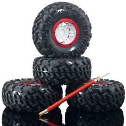 Wholesale Rc Crawler Wheels - RC Austar T3023 RD Air Pressure Tires & Wheel 4P For 1:10 Rock Crawler Truck