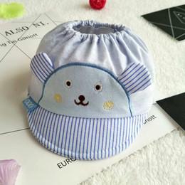 Wholesale Christmas Mesh Stocking - Summer Newborn visor cap cotton mesh adjustable 38~42cm cute ear 0-12M Baby Boy Girl Kid Toddler Infant Hat wholesale in stock