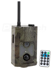 Wholesale Sms Free Dhl - DHL free shipping 12MP 1080P Hunting Trail Camera 3G network MMS SMTP SMS Wide Angle Wildlife Camera HC500G HC550G ann