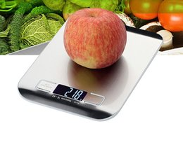 Wholesale Grade Wholesale Stainless Steel Jewelry - High grade easy to operate stainless steel kitchen scale, high precision baking electronic scales, household food electronic scales.