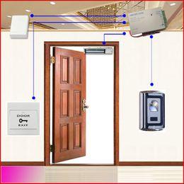 Wholesale Access Entry Systems - Wholesale- Standalone Single Door Fingerprint Door Entry Access Control System (998 fingerprint Users)
