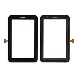 Wholesale Galaxy Tab Plus - Touch Screen Digitizer Glass Lens with Tape for Samsung Galaxy Tab 7.0 Plus P6200 free DHL